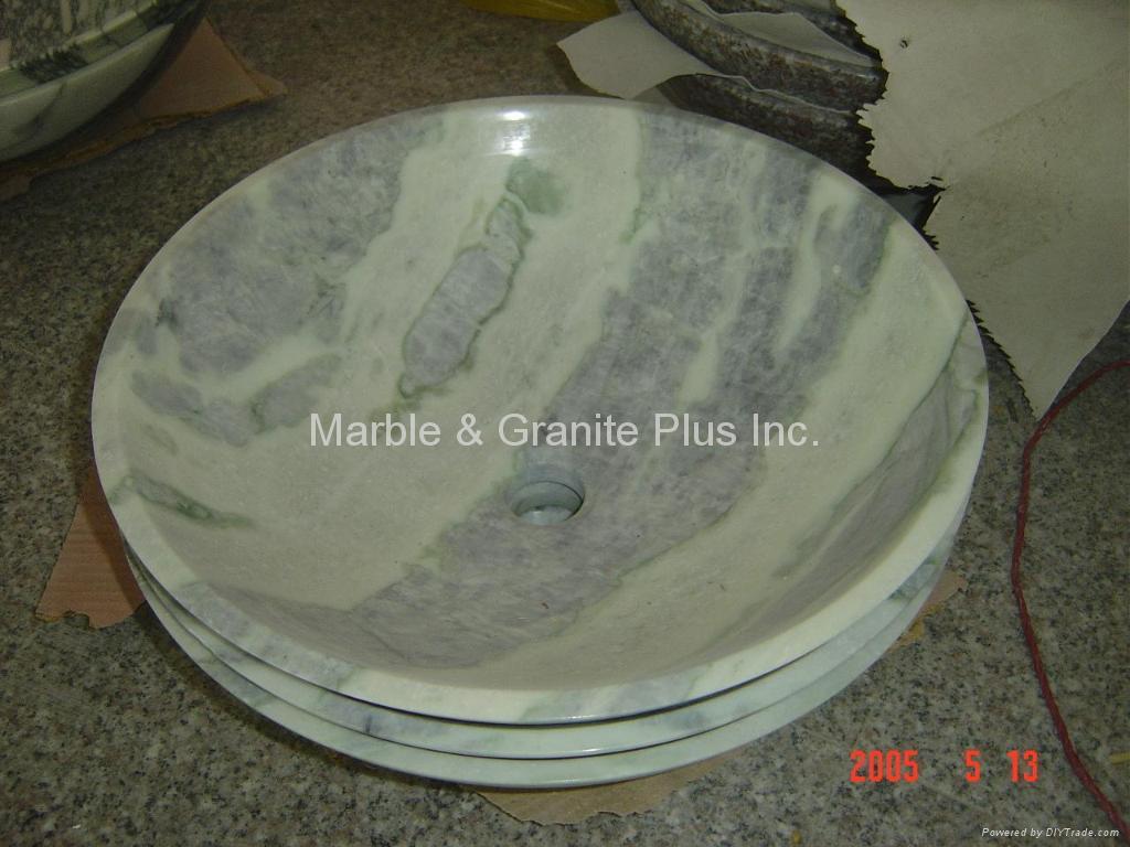 Marble Bowl Sinks 1