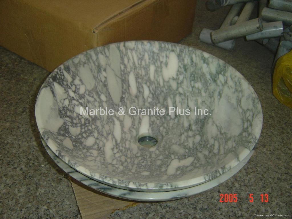 Marble Bowl Sinks 4