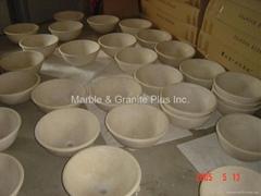 Marble Bowl Sinks