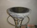 Natural cleft fish bowl sink 5
