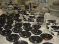 Imperial Black granite lavatory sink 2