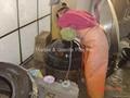 Imperial Black granite lavatory sink 4