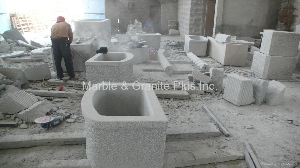 Granite Planter 3