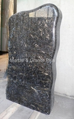 Golden Diamond granite monument