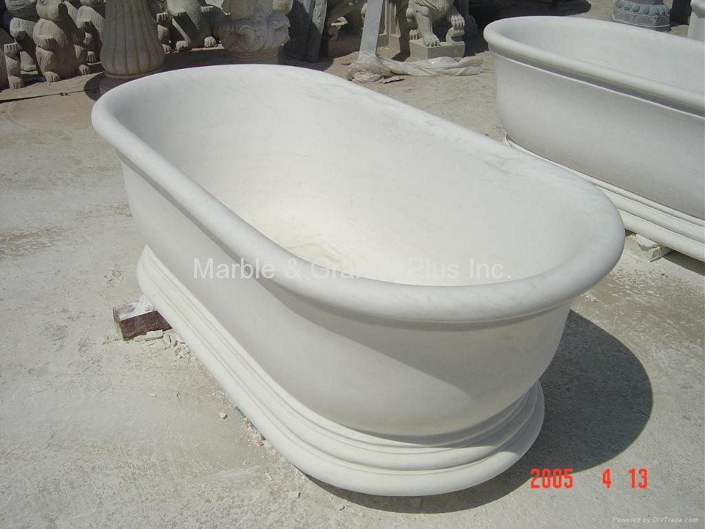 Stone Bathtub Manufacturers Mail: Marble Bathtub (China Manufacturer)