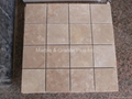 China Beige Travertine Mosaic Tile