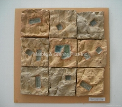 Handcrafted Terra Cotta Mosaic Tile