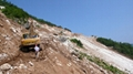 Crystal White marble quarry