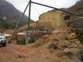 Chinese Giallo Royal (Chinese Giallo Siena, Golden Yellow) marble quarry