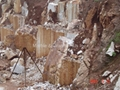 Hunan White marble quarry (one of China White marbles)