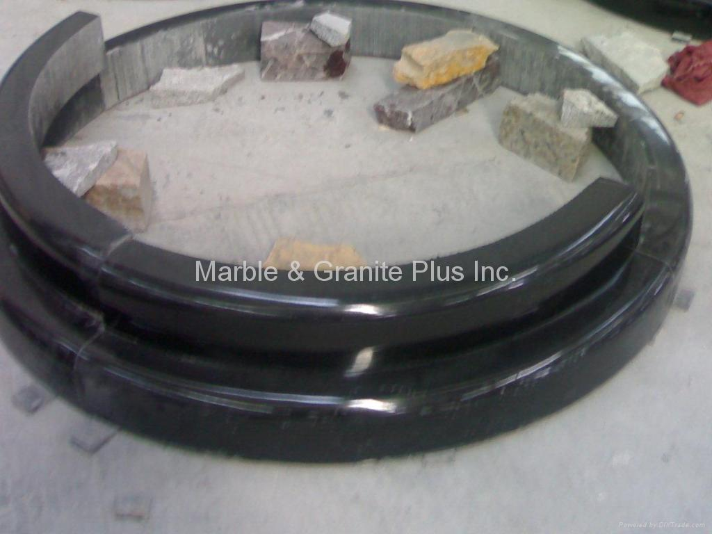 Granite Radial Column Base 4