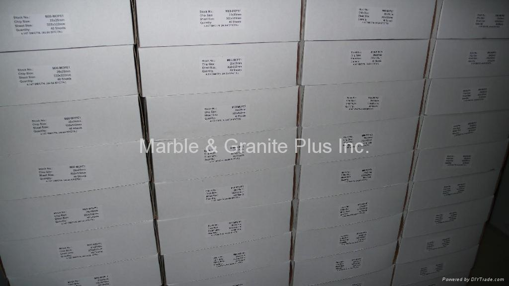 Carton for packing mesh MOP mosaic tiles (40 sheets/carton)