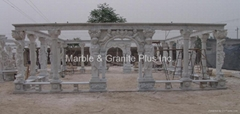 Marble Arbor, Patio and Gazebo