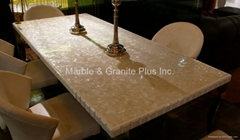 Solid MOP Slab for Table Top