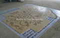 Custom order of Marble mosaic medallion for flooring