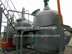 YJ-TY-10 黑油脫色再生還原設備