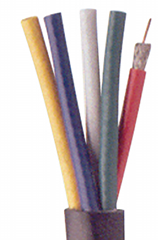 Mini RG59/U RGB-5 Bundled Cable