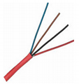 4C 0.5mm2 Fire Alarm Wire Cable FPLR