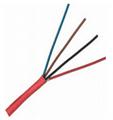 4C 0.5mm2 Fire Alarm Wire Cable FPLR Unshielded Riser