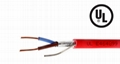 2C 1.5mm2 Fire Alarm Wire Cable FPLR shielded Riser