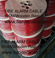 Fire alarm cable-shield type
