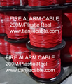 2C 2.5mm2 Fire Alarm Wire Cable FPLR shielded Riser