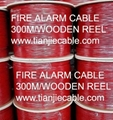 Fire alarm cable-unshield type