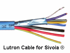 LUTRON CABLE 16/2+18/4+18/1