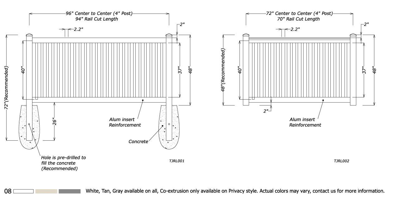 Railing Fence 4