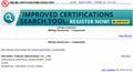 New UL certificate