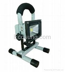 portable rechargeable led flood light for emergency led light