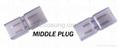 connector middle plug for 110v or 220V