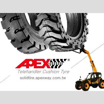Telehandler Solid Tire 1