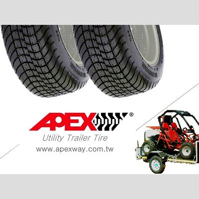 Utility Trailer Tire 1