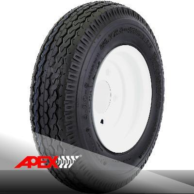 Utility Trailer Tire 4