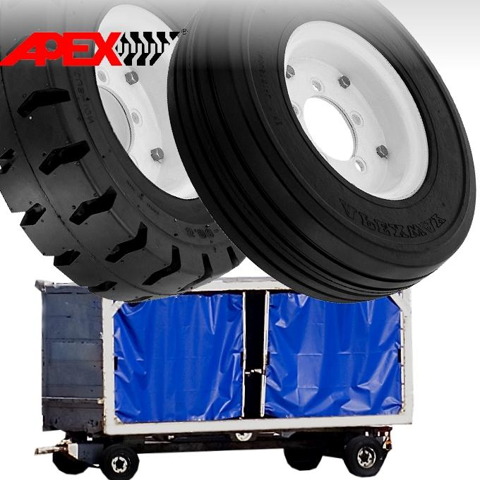 Airport Ground Support Equipment Tire 1