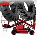 Boom Lift Solid Tire 1