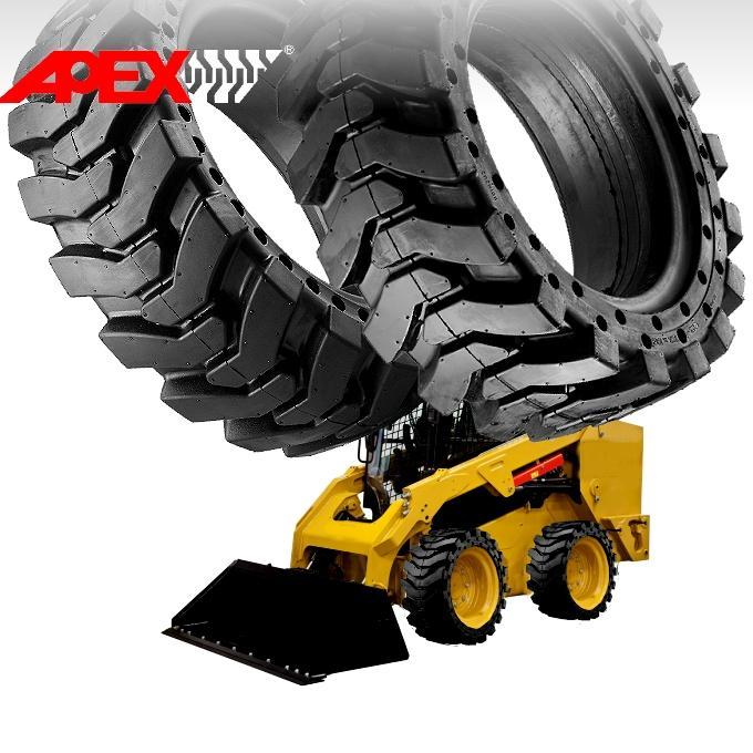 Skid Loader Solid Tire 1