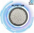 供应PC-PBT合金原料 玻纤增强30% JH-508  家电把手 聚光灯 电动机连接器材料 2