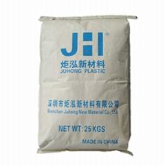 注塑级PC/PBT JH553U 黑色阻燃 30%玻璃纤维增强 替代沙伯基础553U原料