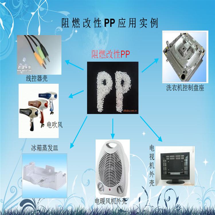 无卤阻燃/PP-FR-3G 无滴落 高刚性 玻纤增强PP 电子电器外壳专用料 3