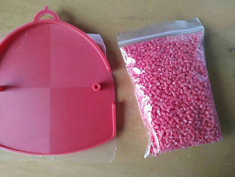 代理韓國曉星POK M335AR5FV 紅色POK塑膠顆粒 超韌POK原料 1