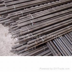 Hexagonal tapered drill rod