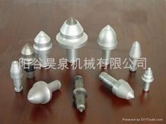 Round cutter bits