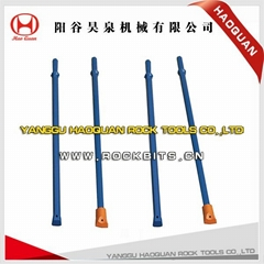 Hexagonal tapered drill rod