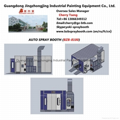 China Paint Spray Booth