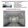 car spray booth for automobile painting and baking 4