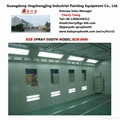 car spray booth for automobile painting and baking 5