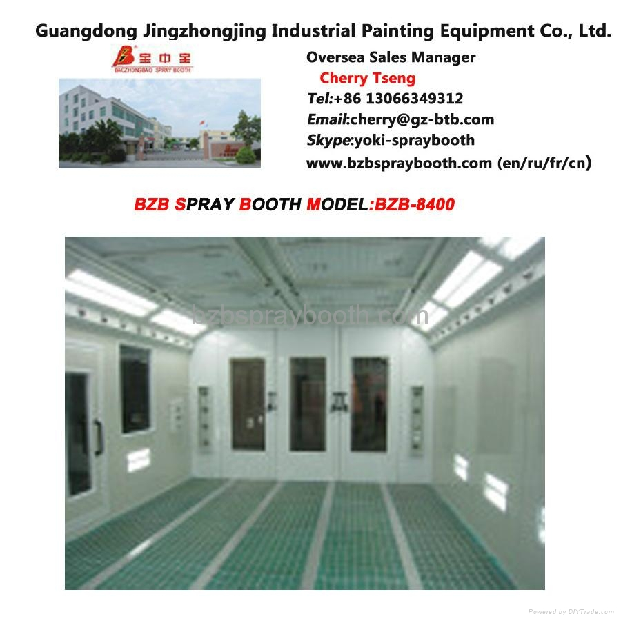 car spray booth for automobile painting and baking 3