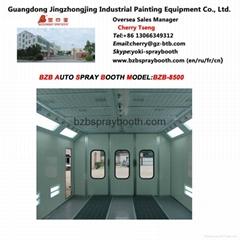 Standard Type Spray Booth BZB-8500 CE